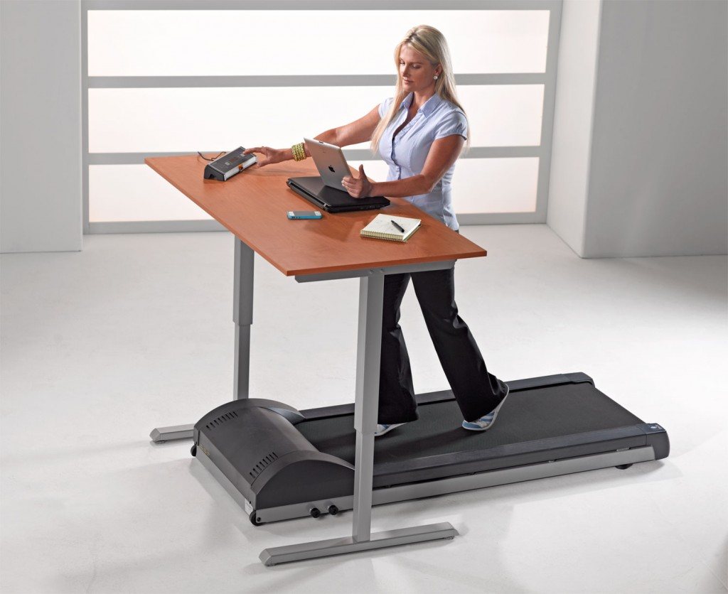Treadmill Desk Born To Walk And Paddleboard