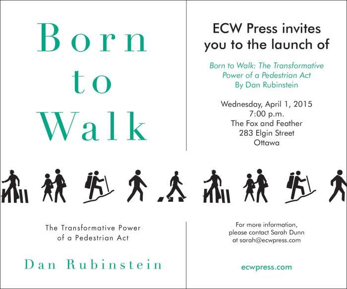 Born to Walk Launch - Ottawa